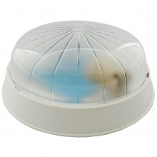 PLAFONIERA ROTUNDA PC. 1xE27 DIPS OPAL FI:21CM IP20 ALB  MINI GLOP 1
