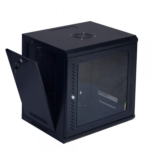 Rack Cabinet de Podea 42U, Neasamblat, Capacitate de Incarcare 80 Kg, 800X1000 MM, 2005 MM, Echipat