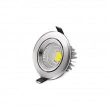 SPOT CU LED ROTUND COB-S 5W 6400K