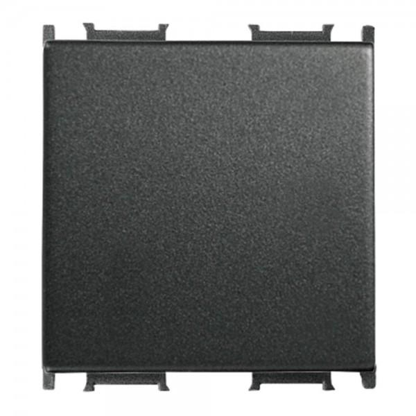 Capac pentru Întrerupător modular, negru, 2 M