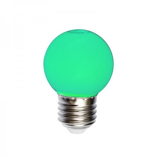 BEC LED 1W G45 E27 VERDE