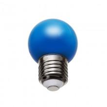 BEC LED 1W G45 E27 ALBASTRU