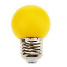 BEC LED 1W G45 E27 GALBEN