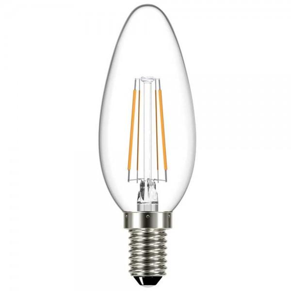 BEC LED FILAMENT TRANSP 4W 400LM 3000K C35 E14