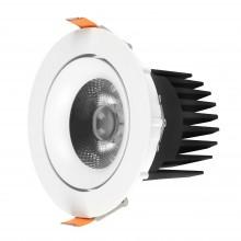 SPOT LED ORIENTABIL COB 30W 2700LM 3000K IP20 FI:140MM SHOPLINE-R ALB