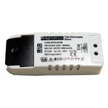 LED DRIVER 18W-300mA-IP20-TRIAC DIMABIL BRAYTRON P