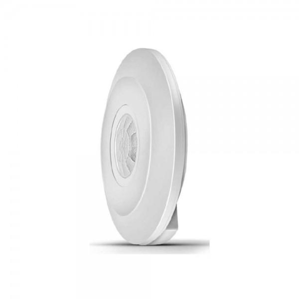 SENZOR DE MISCARE INCASTRABIL PT TAVAN 360GRADE 2000W H:2-4M FI:115MM 230V IP20 MS01