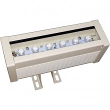 Wall Washer 6W, 600lm, RGB, 180x84mm, IP67