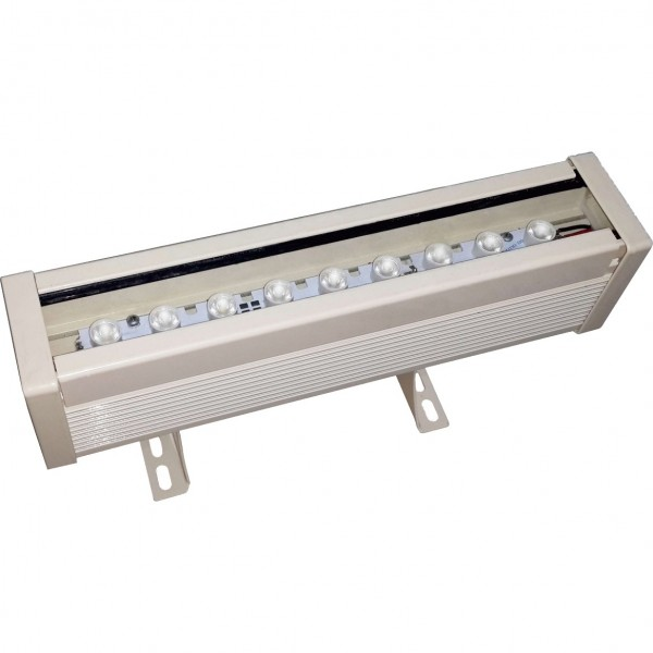 Wall Washer 6W, 600lm, 2700K, 180x84mm, IP67
