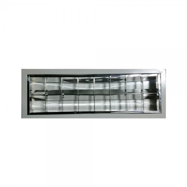 CORP ILUMINAT TIP FIRA 2x60CM CABLAT PT TUB LED IP20