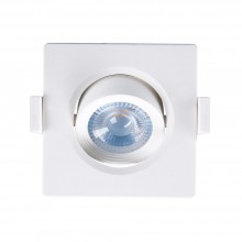 SPOT LED PATRAT 5W 380lm 38D 3000K IP20 G1 BRAYTRON PLUS