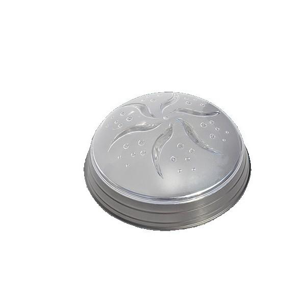 Plafoniera 1xE27 MAX60W Silver IP20 Luna 1