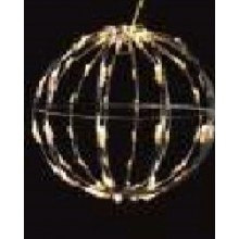 DECORATIUNE LED GLOB 3,6W IP44 40CM ALB FARA CABLU