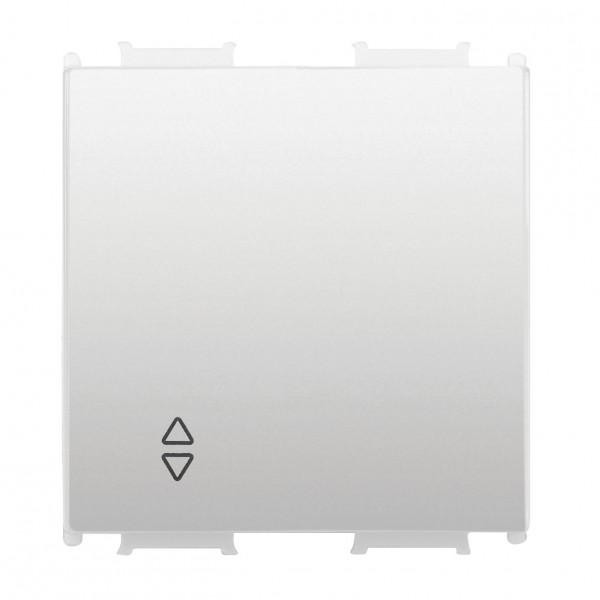 Capac pentru Întrerupător cap scară, alb, 2 module
