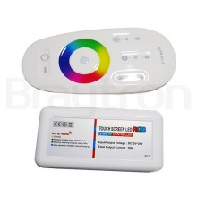 LED CONTROLLER 216W 18A 18A 12/24VDC RGB TOUCH SCREEN