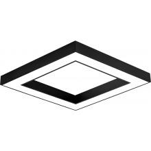 PLAF. LED SUSP 36W 3000/4000/6500K NEGRU BLADE SQR