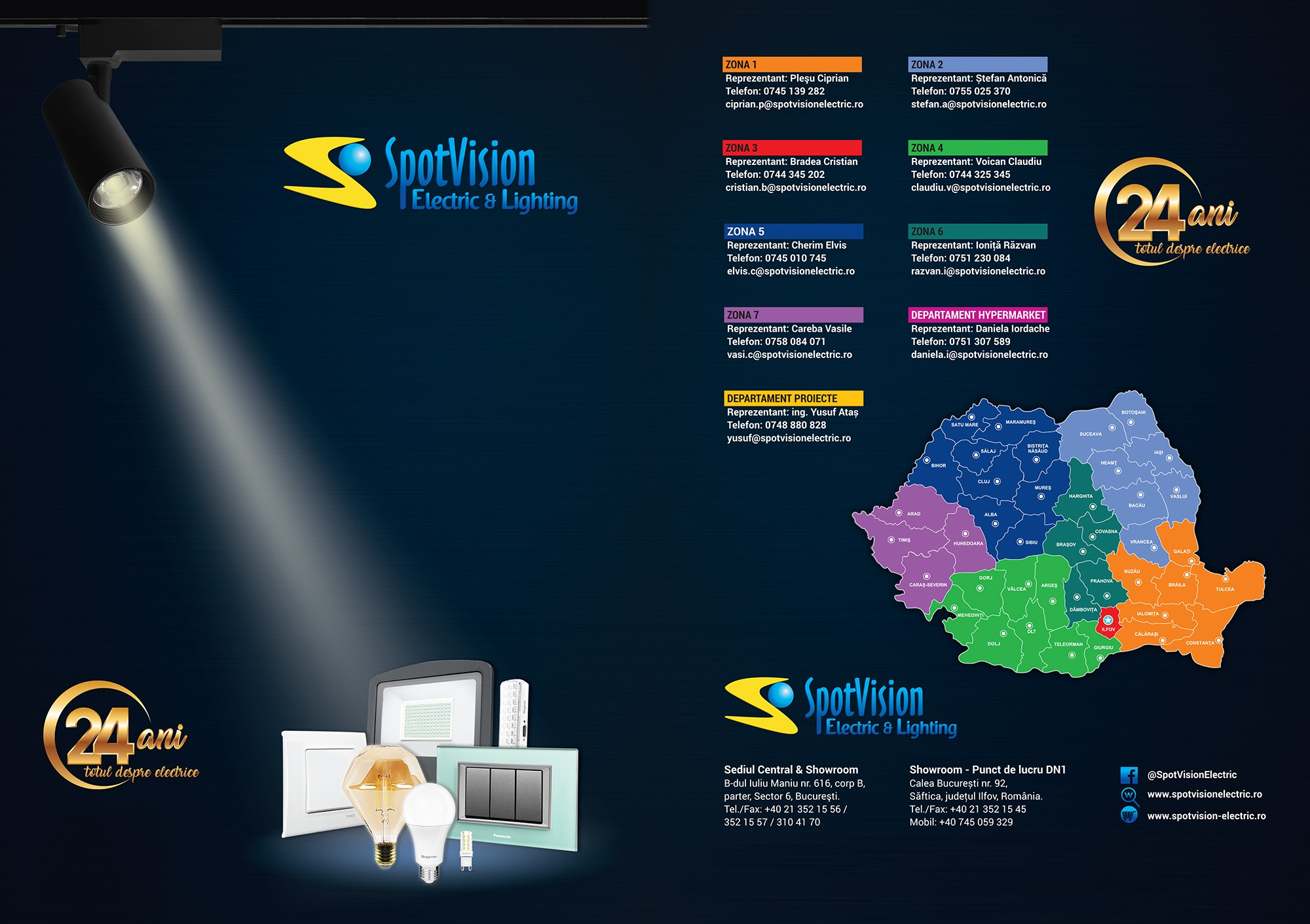 Spot Vision Electric & Lighting
